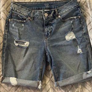 Jean shorts TIME AND TRU WALMART BRAND